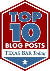 Texas bar today top ten blogs