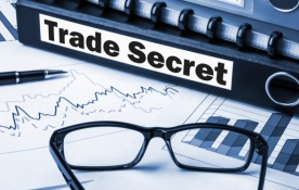 trade secrets label on folder