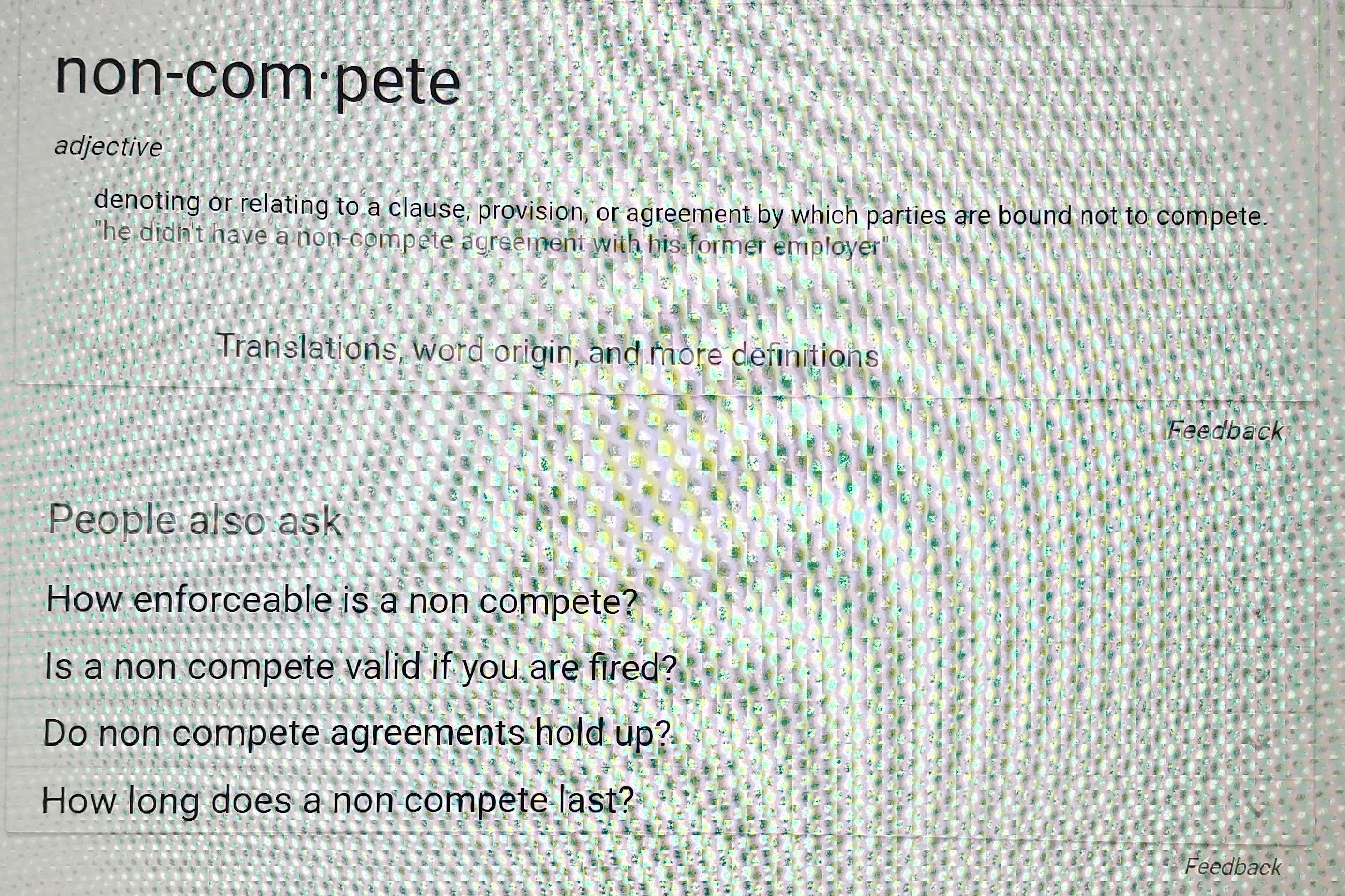 How Enforceable Is A Non Compete And Other Top Google Questions